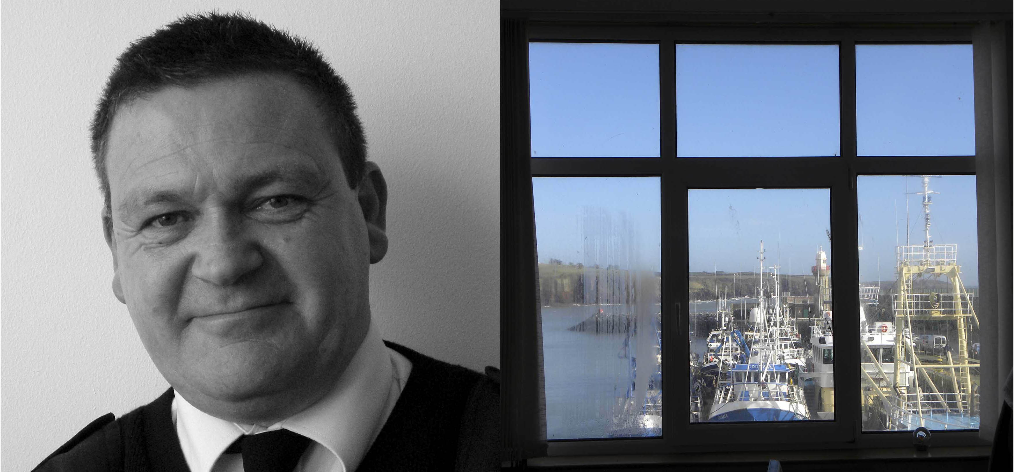 3. Harry McGloughlin, Harbour Master, Harbour Master Office.